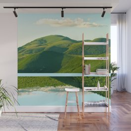 Mountains and Sky Wall Mural