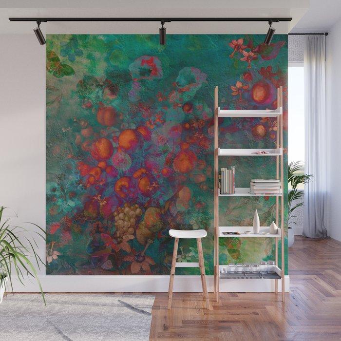 """""""Spring Pop Still Life"""" Wall Mural"""