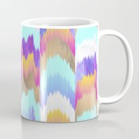 glitch Mugs featuring Glitch by Elisabeth Fredriksson