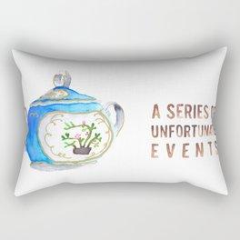 Sugar Bowl Water Color Rectangular Pillow