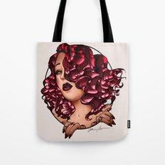 Redhead Vamp Tote Bag
