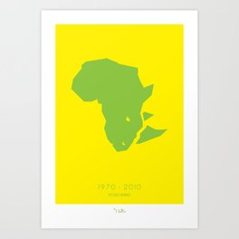 47000 Rhinos Art Print
