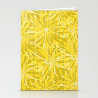 sunflowers Stationery Cards featuring Sunflowers by Simi Design