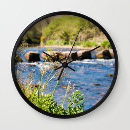 Week Ford Stepping Stones Wall Clock