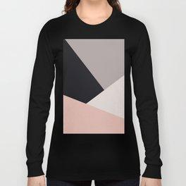 Elegant & colorful geometric Long Sleeve T-shirt