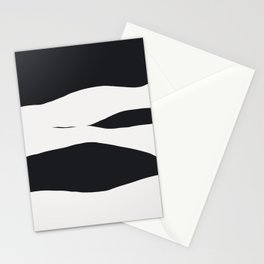 Snowy Strokes Stationery Cards