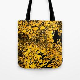 Ginko Leaves In California Tote Bag