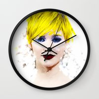 law Wall Clocks featuring J Law by André Joseph Martin