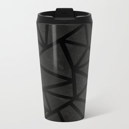 Ab Marble Zoom Black Metal Travel Mug