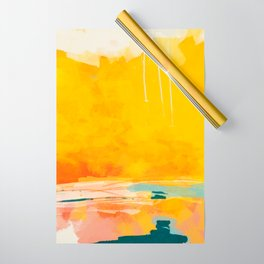 sunny landscape Wrapping Paper