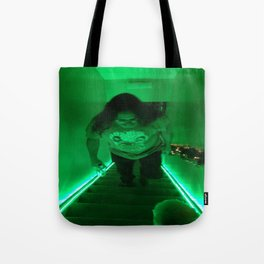 Neon Hippy Tote Bag