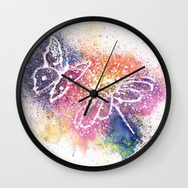 Nature Art Illustration Wall Clock