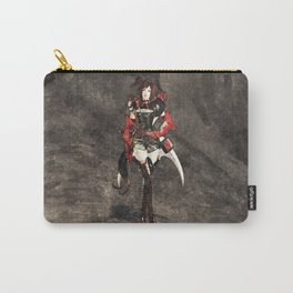 Armored woman Carry-All Pouch