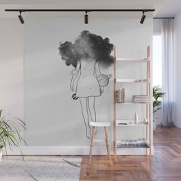Disappear in yourself. Wall Mural