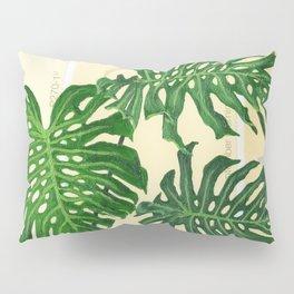 Monstera on Yellows Pillow Sham