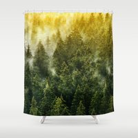 architect Shower Curtains featuring Don't Wake Me Up by Tordis Kayma