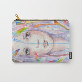Rainbow eyes Carry-All Pouch