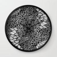 henna Wall Clocks featuring Henna by JessicaR
