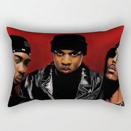 Murder Inc. Rectangular Pillow