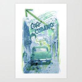 Cafe Cubano Art Print