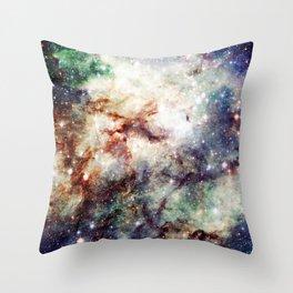 Intersellar cloud Throw Pillow
