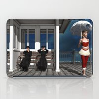 scandal iPad Cases featuring Victorian summer scandal by Britta Glodde