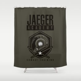Jaeger Academy Shower Curtain
