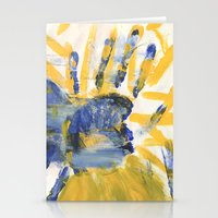 sun and moon Stationery Cards featuring Sun-Moon by Lindsey Quakenbush