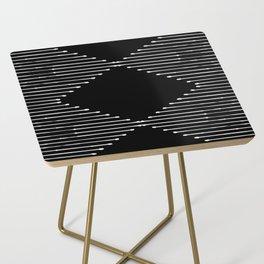 Geo / Black Side Table