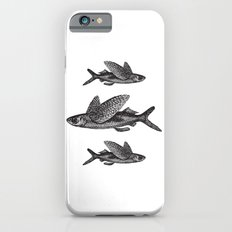 Flying Fish   Black and White iPhone 6s Slim Case
