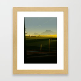 Train5 Framed Art Print