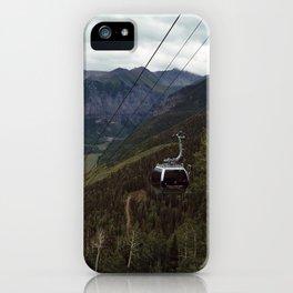 Telluride gondolas iPhone Case