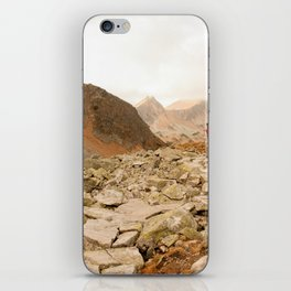 Mountains speak for themselves iPhone Skin