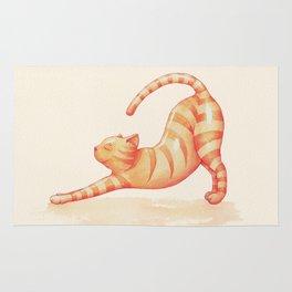 Yoga Cat Rug
