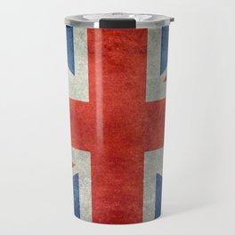 British flag of the UK, retro style Travel Mug