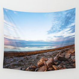 Great Salt Lake Reflections Wall Tapestry