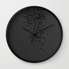 Lucian Prince's Skull Print Wall Clock