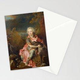 Nicolas de Largillire - Portrait of a Young Nobleman Stationery Cards