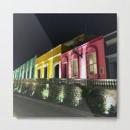 Colors of Mazatlan Metal Print