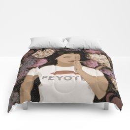 Peyote Field Landscape Comforters