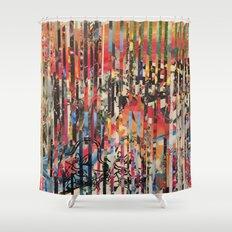 STRIPES 27 Shower Curtain