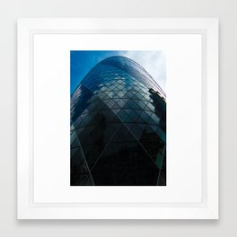 Glass Egg Framed Art Print