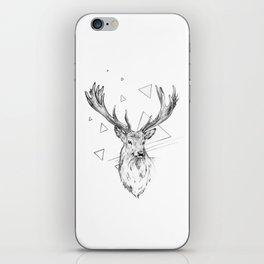 Frankly Deer iPhone Skin