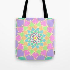 Pastel Lotus Tote Bag
