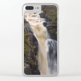 The Falls of Kirkaig Clear iPhone Case