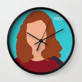 Lily Aldrin HIMYM Wall Clock