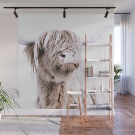 HIGHLAND CATTLE PORTRAIT Wall Mural