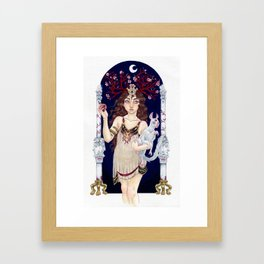 Kore Framed Art Print
