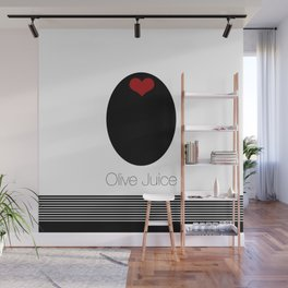Olive Juice AKA I LOVE YOU Wall Mural