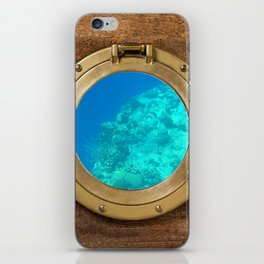 Underwater View iPhone Skin